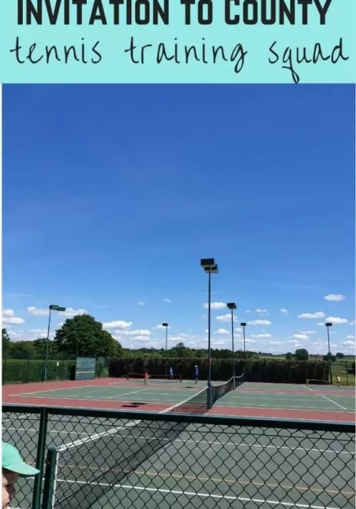 invitation to county tennis training squad