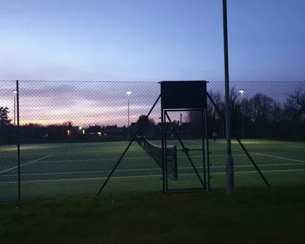 Project 52 2020 Week 6 – floodlit tennis