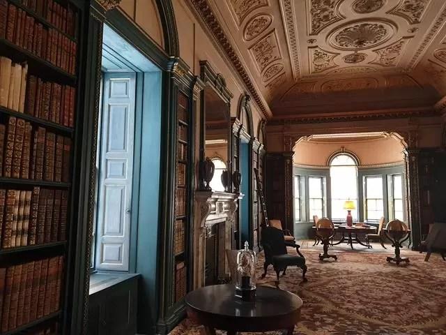 corridor inside wimpole estate