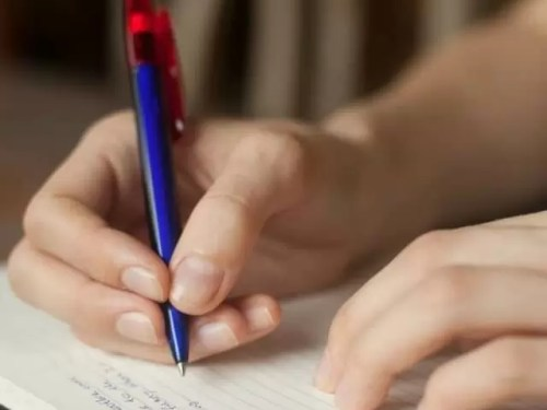 how to support handwriting practice