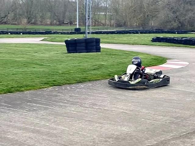 karting on track
