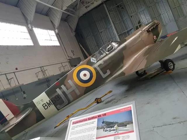 spitfire plane