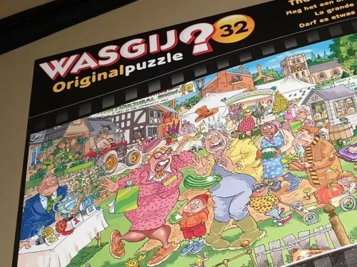 Wasgij the big weigh in