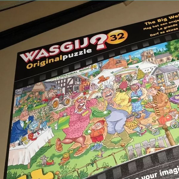 Wasgij Original 32 – The big weigh in puzzle solution