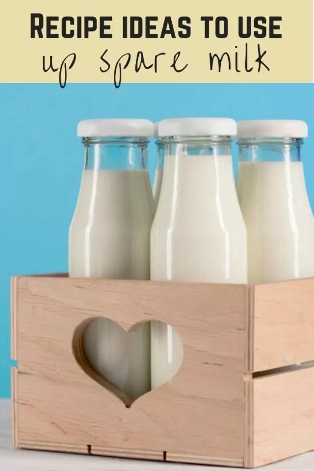 recipes to use up milk