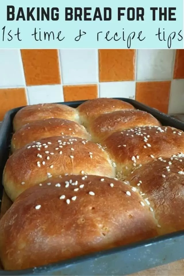 Easy bread we baked for the first time