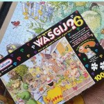 Wasgij Original 6 Blooming Marvellous puzzle solution