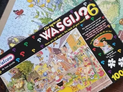 Wasgij Blooming Marvellous puzzle