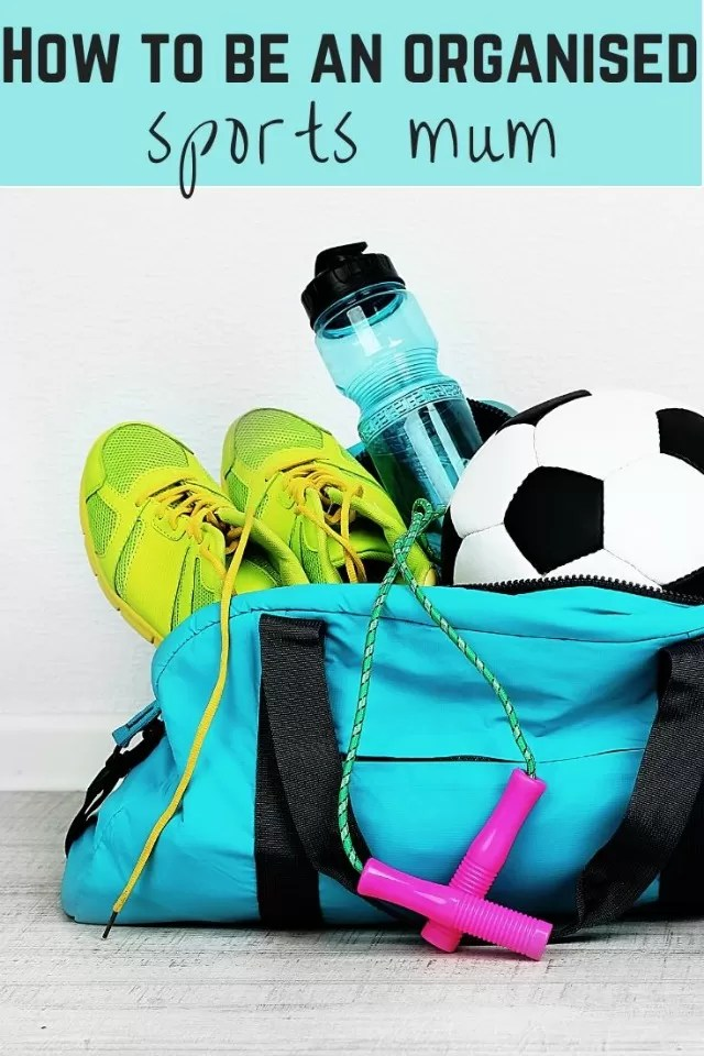 be organised sports mum
