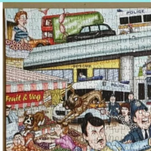 Wasgij Mystery Only Fools and Horses puzzle solution