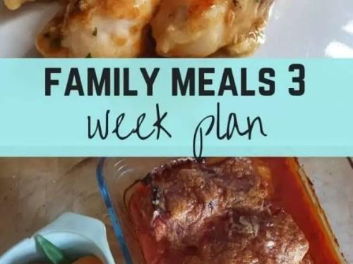 3 week meal plan week 10-12