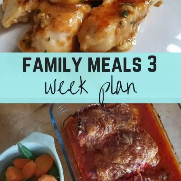 3 week meal plan – week 10 to 12