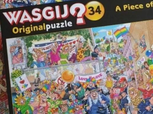 Wasgij original 34 Piece of Pride puzzle solution