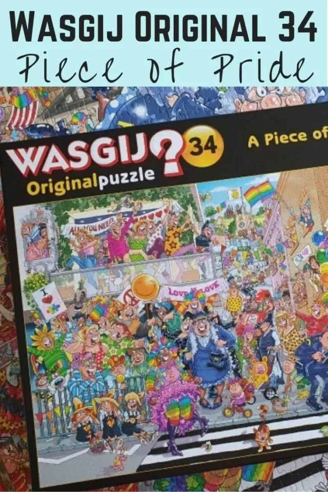Wasgij original 34 Piece of Pride puzzle solution
