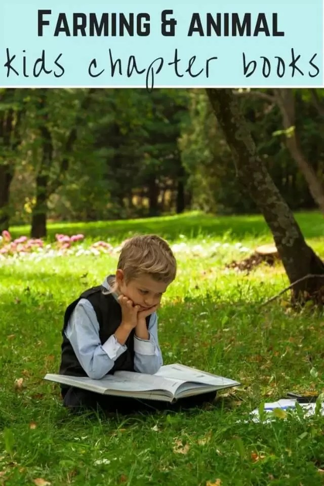 Farming and animal chapter book recommendations for children