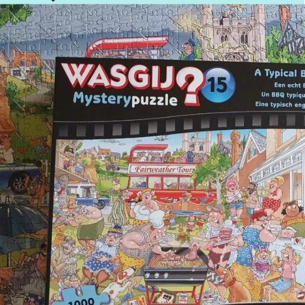 Wasgij Mystery 15 A Typical British BBQ puzzle solution