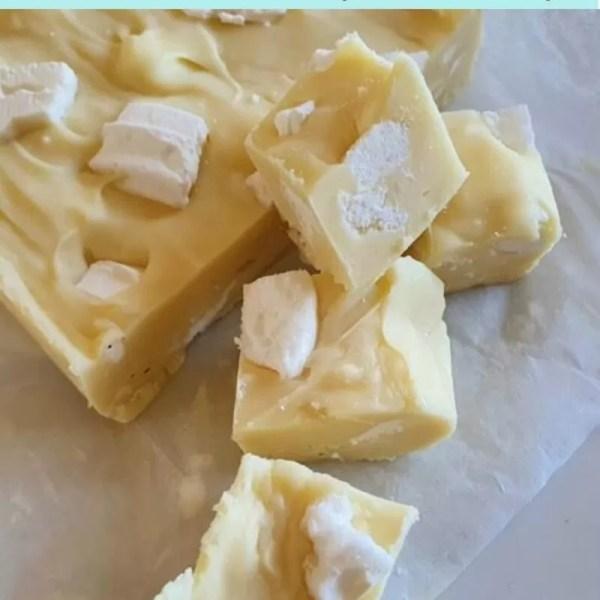 Easy microwave lemon meringue fudge recipe