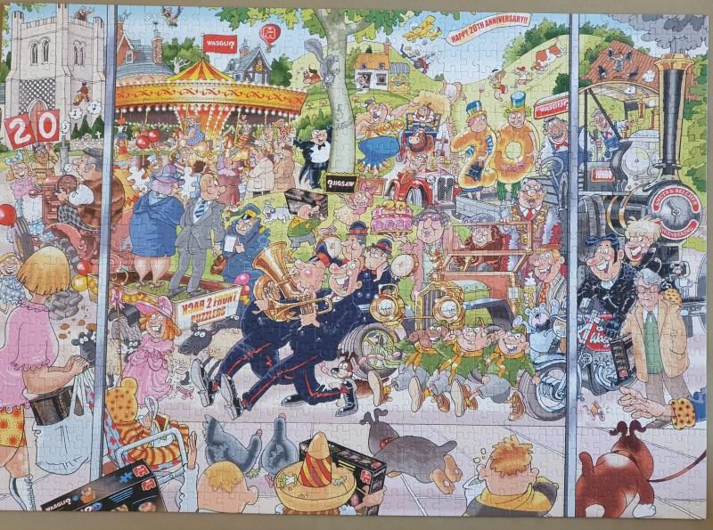 wasgij original 27 20th party parade puzzle solution