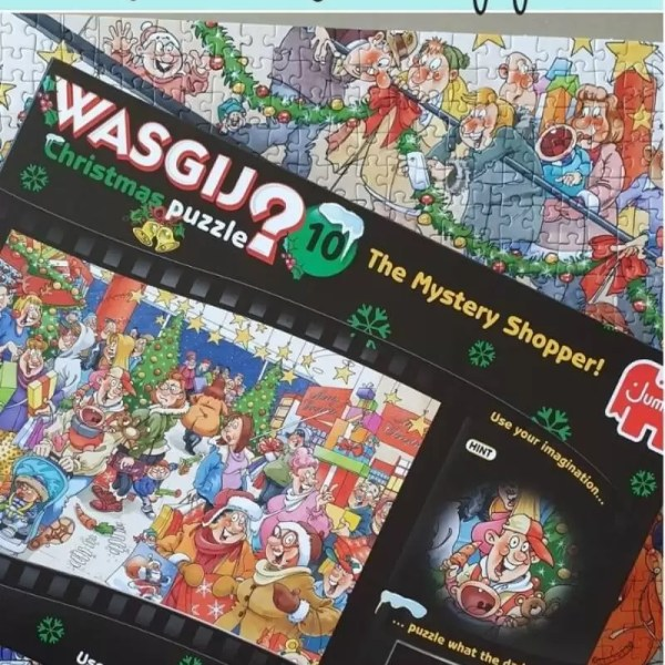 Wasgij Christmas 10 – Mystery Shopper puzzle solution