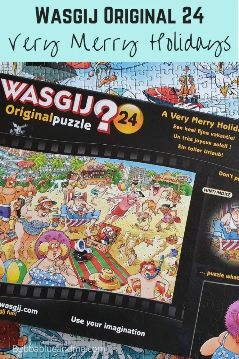 Wasgij original 24 a very merry holidays puzzle solution