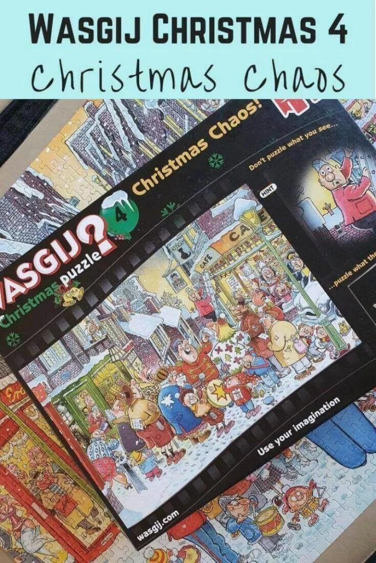 Wasgij Christmas 4 Christmas Chaos puzzle