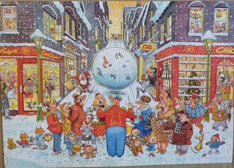 Wasgiji Christmas 4 Christmas chaos solution