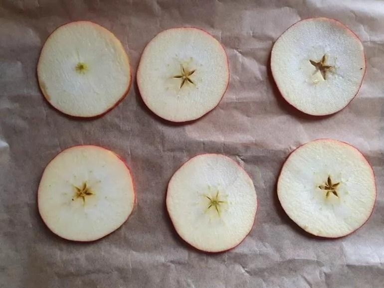apple slices for drting