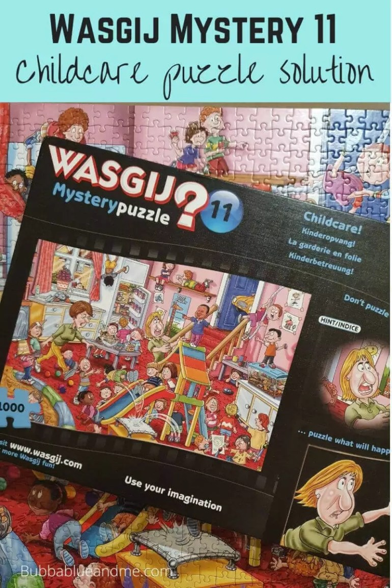 Wasgij mystery 11 childcare puzzle
