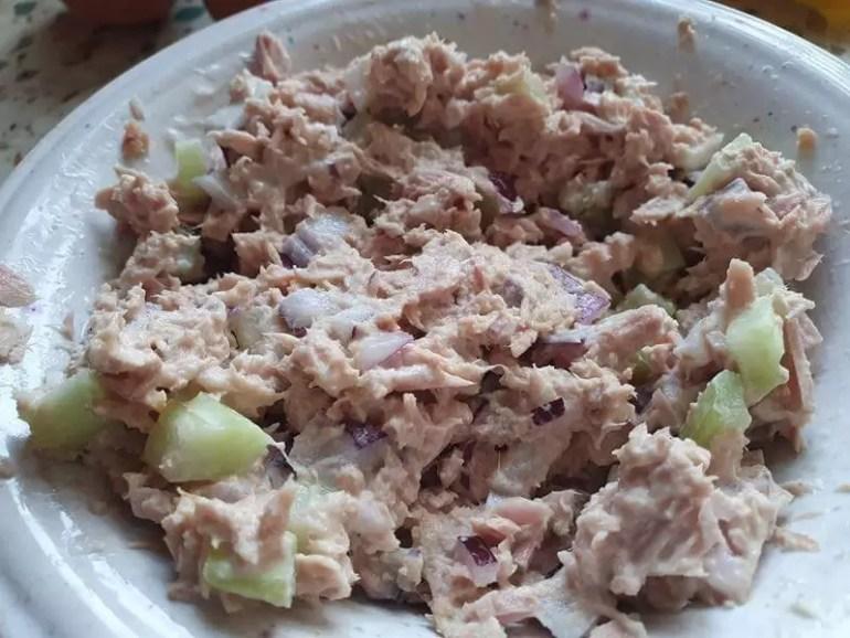 tuna melt mixture