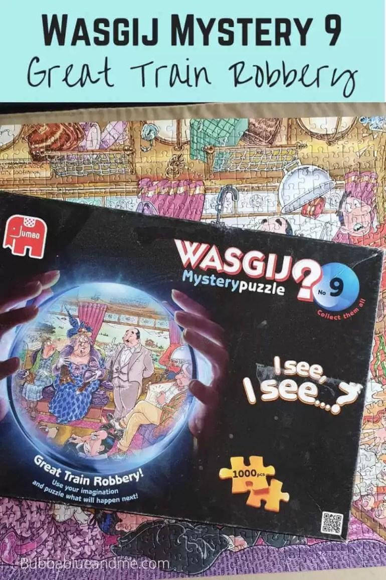 wasgij mystery 9 great train robbery solution blog
