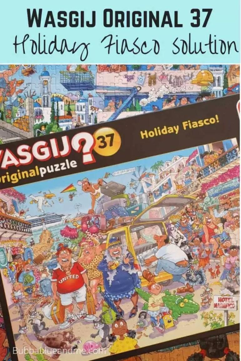 Wasgij original 37 holiday fiasco