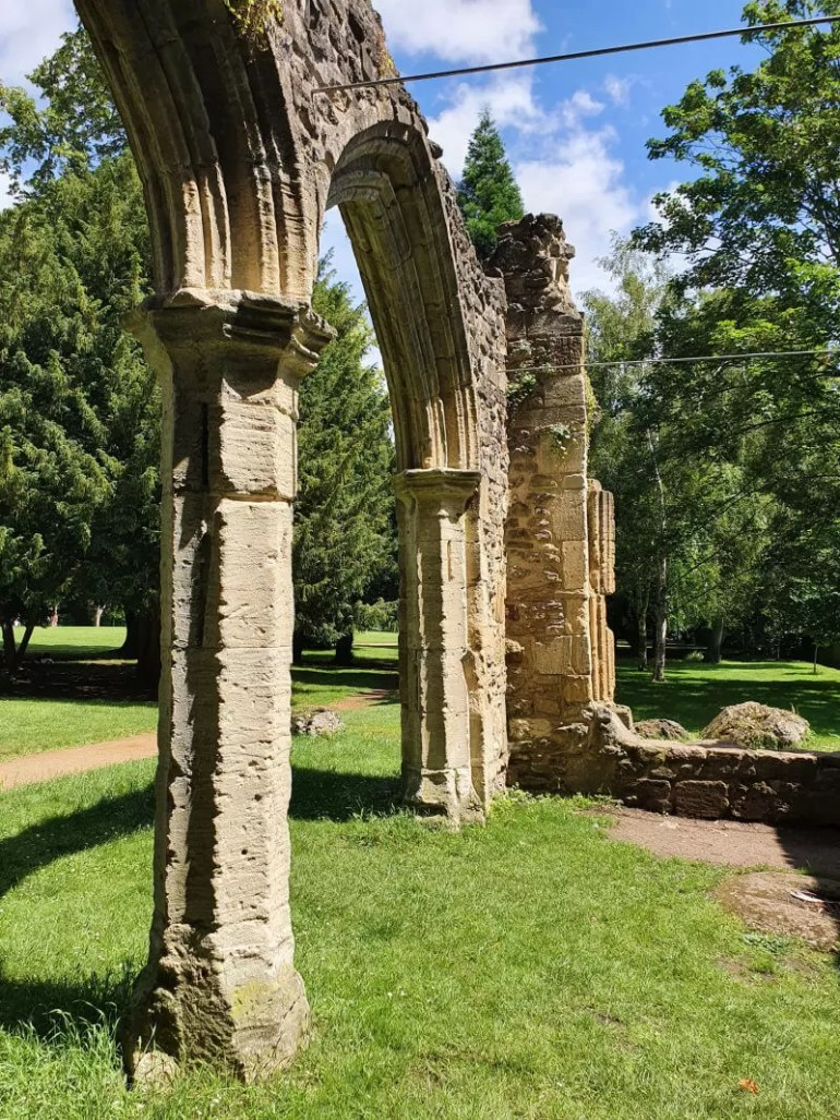 arches of trendell's folly ruins