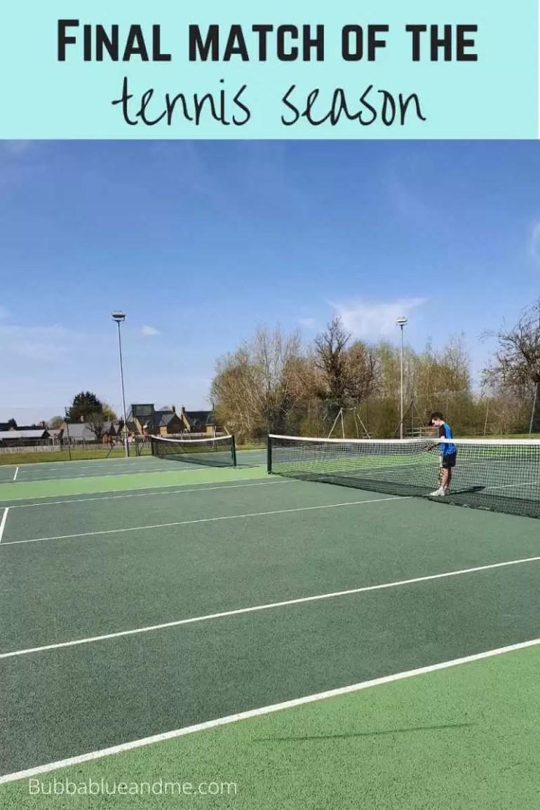 last match of the tennis season