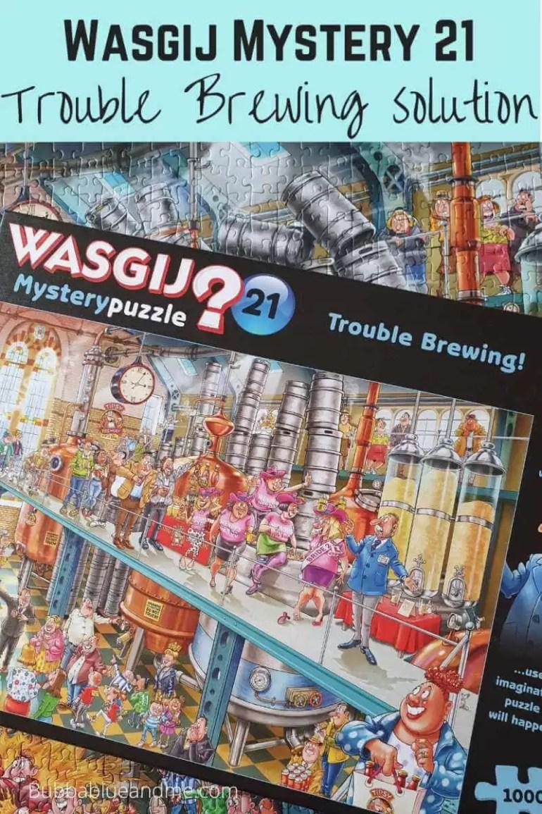 Wasgij Mystery 21 Trouble brewing