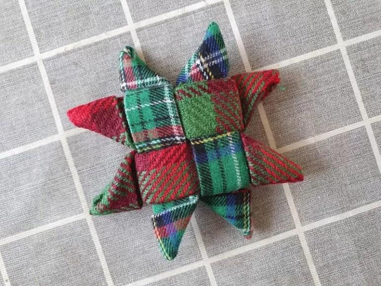 completed tartan scandinavian star