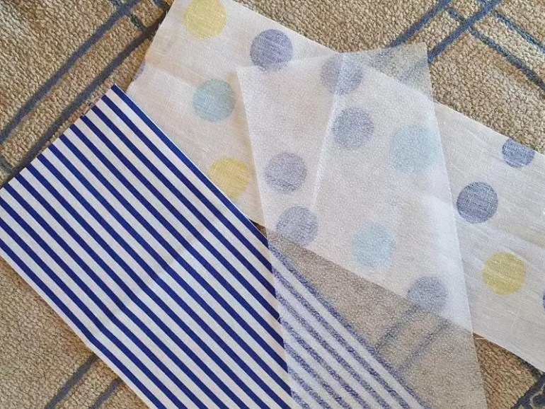 fabric for bookmarks