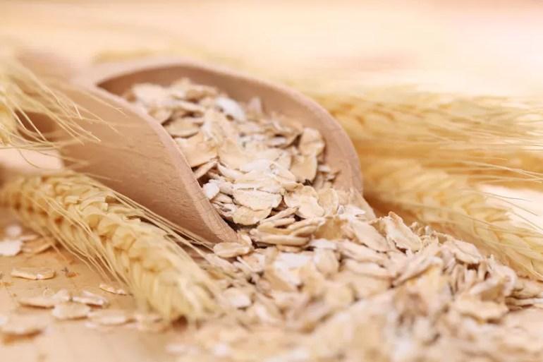 oats in a scoop