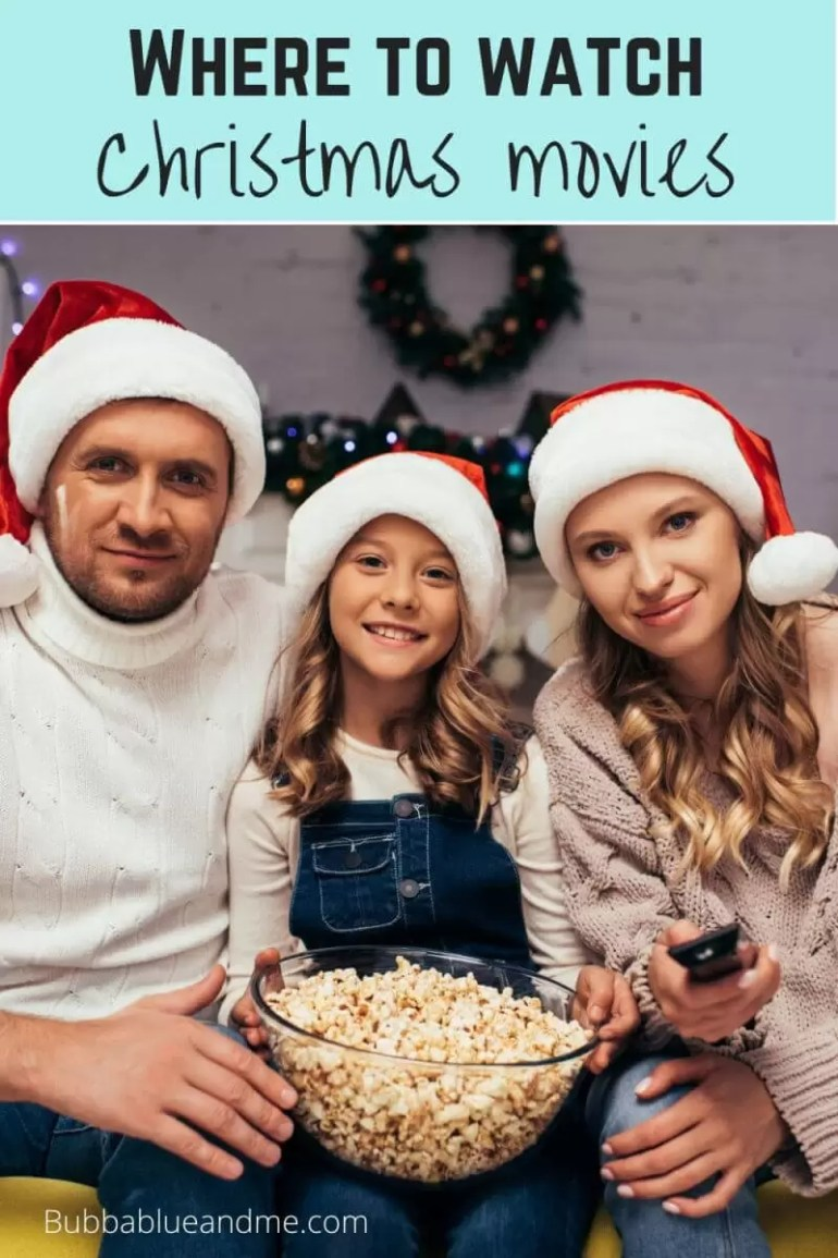 where to watch christmas movies