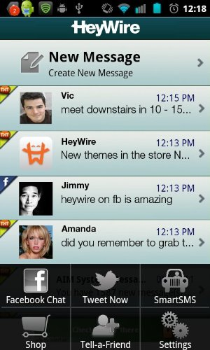 HeyWire, Free Texting From Your PC