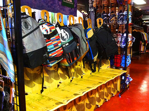 Backpacks at Core Extreme Sports