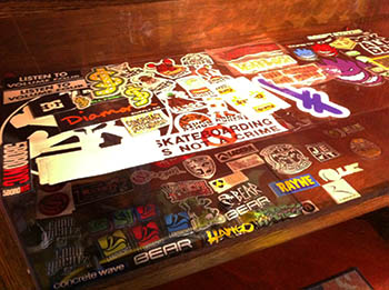 OKC Skateboard Stickers
