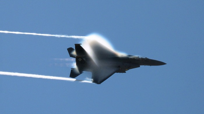 F-15 Strike Eagle vapor cone