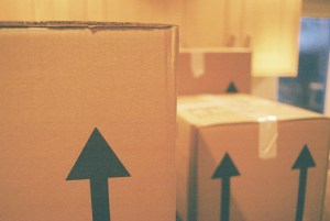 Easy Way To Pack A Kitchen moving boxes