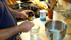 Adding Yeast to Pizza Dough Water