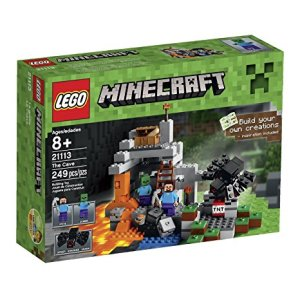 Minecraft LEGO The Cave