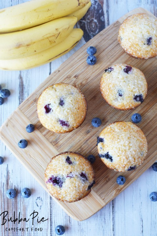 banana blueberry muffins the perfect breakfast treat