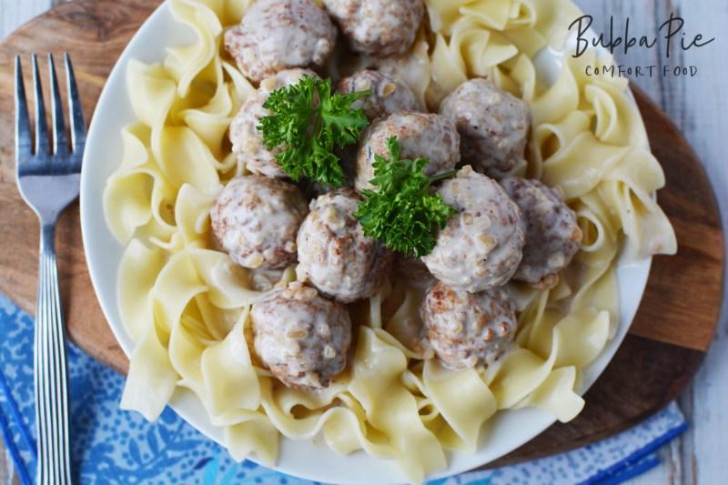 Swedish Meatballs Crock Pot
