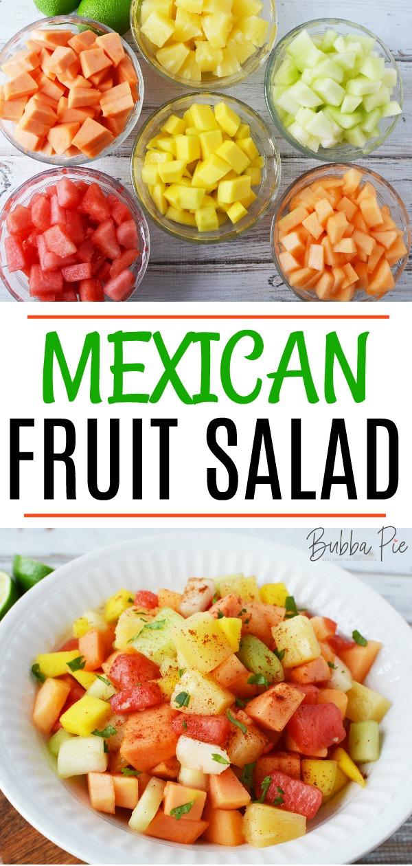 Mexican Fruit Salad Pin