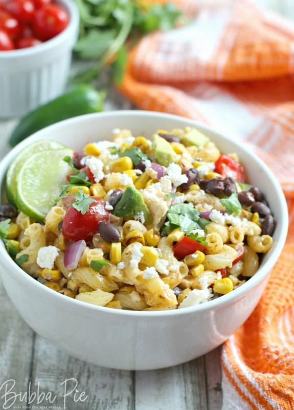 Mexican Street Corn Salad Recipe is a twist on the classic street dish Elote