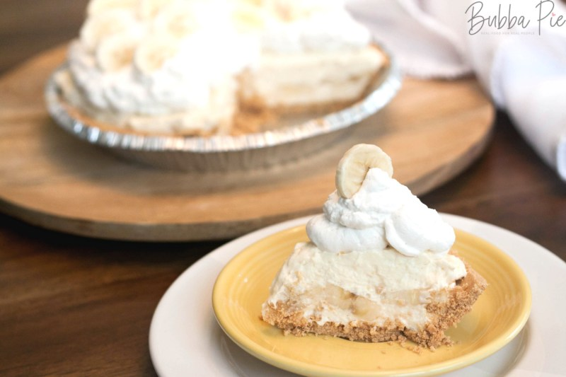 This No Bake Banana Cream Pie is the perfect old fashioned dessert recipe